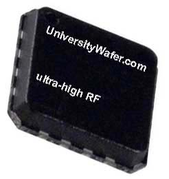 ultrahigh radio frequency amplifier