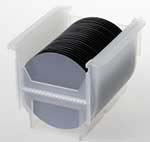 What are silicon wafer flats