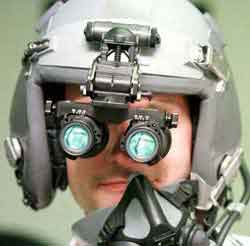 Indium Phosphide Night Vision Goggles